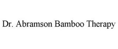 DR. ABRAMSON BAMBOO THERAPY