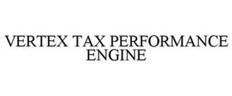 VERTEX TAX PERFORMANCE ENGINE
