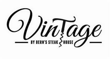 VINTAGE BY BERN'S STEAK HOUSE