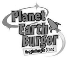 PLANET EARTH BURGER VEGGIE BURGER STAND