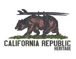 CALIFORNIA REPUBLIC HERITAGE