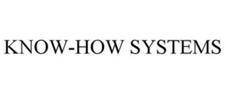 KNOW-HOW SYSTEMS
