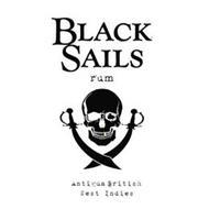 BLACK SAILS RUM ANTIGUA BRITISH WEST INDIES