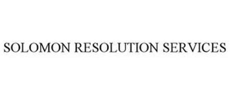 SOLOMON RESOLUTION SERVICES