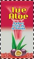 IVE ALOE SABOR FRUTA DE LA PASIÓN