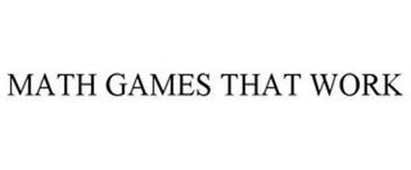 MATH GAMES THAT WORK