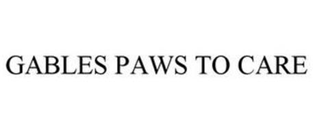 GABLES PAWS TO CARE