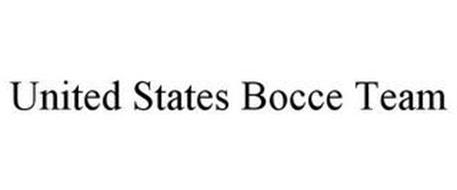 UNITED STATES BOCCE TEAM