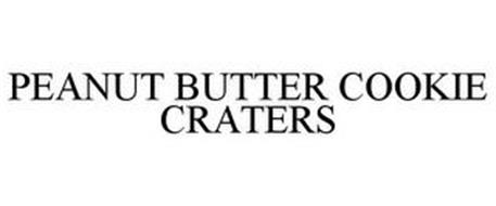 PEANUT BUTTER COOKIE CRATERS