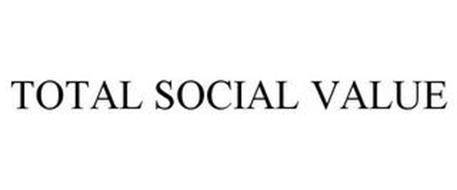 TOTAL SOCIAL VALUE