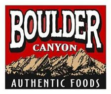 BOULDER CANYON AUTHENTIC FOODS