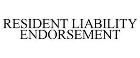 RESIDENT LIABILITY ENDORSEMENT