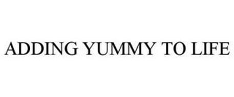 ADDING YUMMY TO LIFE