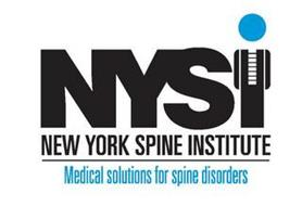 NYSI NEW YORK SPINE INSTITUTE MEDICAL SOLUTIONS FOR SPINE DISORDERS