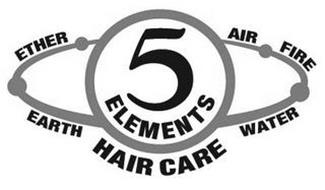 5 ELEMENTS HAIR CARE ETHER AIR FIRE EARTH WATER