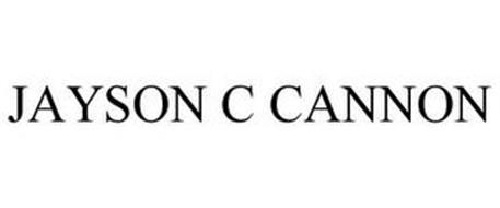 JAYSON C CANNON