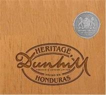 HERITAGE DUNHILL TOBACCO OF LONDON LIMITED HECHO EN HONDURAS