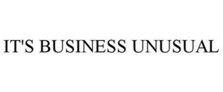 IT'S BUSINESS UNUSUAL
