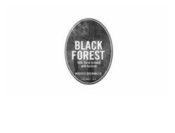 BLACK FOREST MILK STOUT BREWED WITH LACTOSE MADTREE BREWING CO. CINCINNATI, OHIO