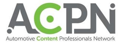 ACPN AUTOMOTIVE CONTENT PROFESSIONALS NETWORK