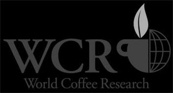 WCR WORLD COFFEE RESEARCH