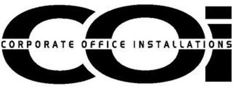 COI CORPORATE OFFICE INSTALLATIONS