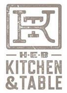 KT H-E-B KITCHEN & TABLE
