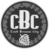 CBC CRAFT BREWW CITY GREAT BEER & HONEST FOOD