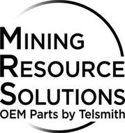 MINING RESOURCE SOLUTIONS OEM PARTS BY TELSMITH