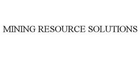 MINING RESOURCE SOLUTIONS