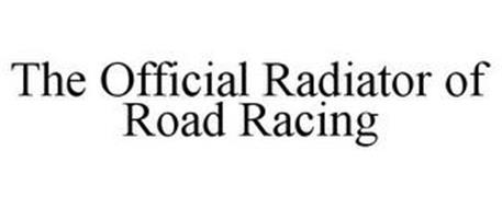 THE OFFICIAL RADIATOR OF ROAD RACING