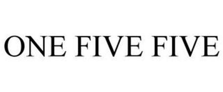 ONE FIVE FIVE