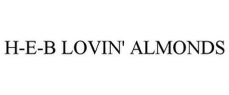 H-E-B LOVIN' ALMONDS
