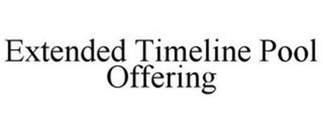 EXTENDED TIMELINE POOL OFFERING