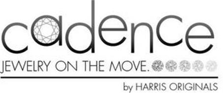 CADENCE JEWELRY ON THE MOVE. BY HARRIS ORIGINALS