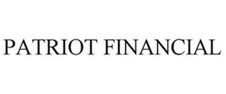 PATRIOT FINANCIAL