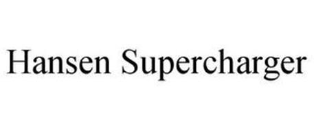 HANSEN SUPERCHARGER