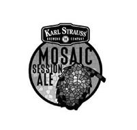KARL STRAUSS BREWING '89 COMPANY MOSAIC SESSION ALE