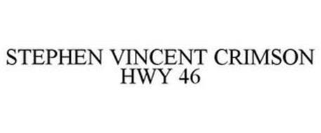 STEPHEN VINCENT CRIMSON HWY 46