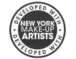 · DEVELOPED WITH · NEW YORK MAKE-UP ARTISTS