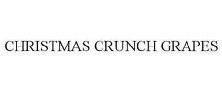 CHRISTMAS CRUNCH GRAPES