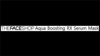 THEFACESHOP AQUA BOOSTING RX SERUM MASK