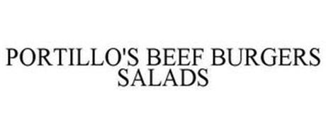 PORTILLO'S BEEF BURGERS SALADS