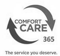 COMFORT CARE 365 THE SERVICE YOU DESERVE.