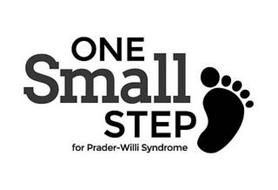 ONE SMALL STEP FOR PRADER-WILLI SYNDROME