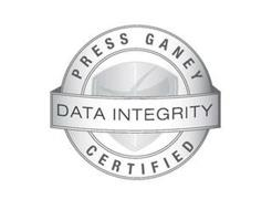 PRESS GANEY DATA INTEGRITY CERTIFIED