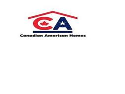 CA CANADIAN AMERICAN HOMES