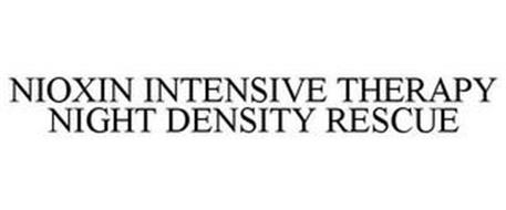 NIOXIN INTENSIVE THERAPY NIGHT DENSITY RESCUE