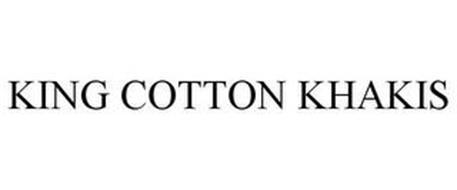 KING COTTON KHAKIS