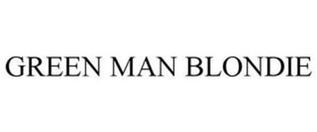 GREEN MAN BLONDIE